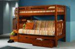 Set Kamar Tidur Anak Minimalis Jati