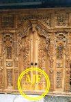 Pintu Rumah Ukir Gebyok Rahwana