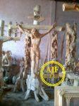 Ukiran Relif Patung Salib Yesus