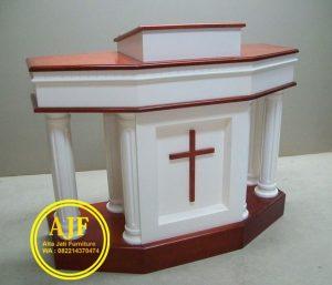 Model Mimbar Gereja Modern dan Klasik