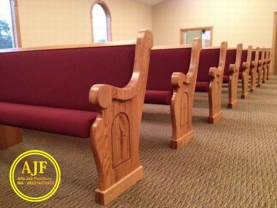 Jual Bangku Gereja Vintage kayu jati
