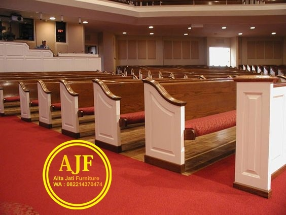 Jual aneka bangku gereja kristen protestan