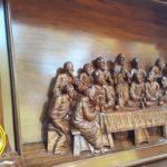 Altar Gereja Katolik Kayu Jati