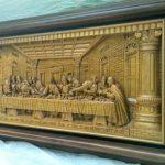 Ukiran Perjamuan Suci Kudus Terakhir