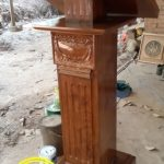 Podium Gereja Kayu Jati Murah