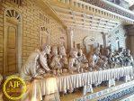 Perjamuan Terakhir Kayu Jati