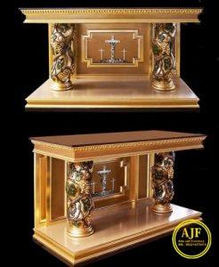 Jual meja altar gereja katolik terbaru