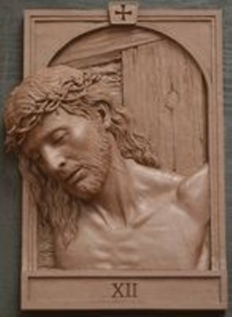 Jual ukiran Jepara 14 jalan salib yesus model terbaru