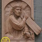Ukiran Jepara 14 jalan salib yesus