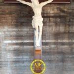 Patung Salib yesus ukiran Jepara