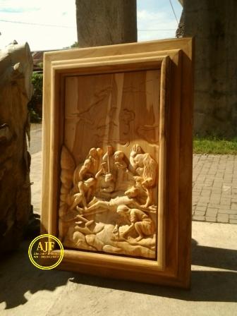 14 perhentian jalan salib kayu jati