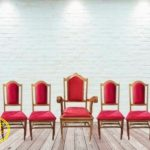 Kursi pastor gereja sederhana
