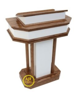 Mimbar khotbah gereja minimalis