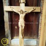 Ukiran Patung Yesus Disalib