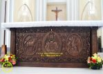 Meja Altar Jati Gereja Katolik