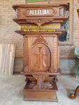 Mimbar Gereja Katolik Lambang Kasola
