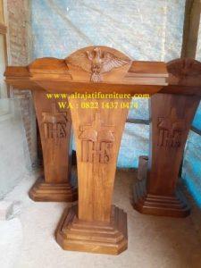 Mimbar Podium Gereja Katolik Modern